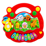 Baby Kids Musical Educational Animal Farm Piano Developmental