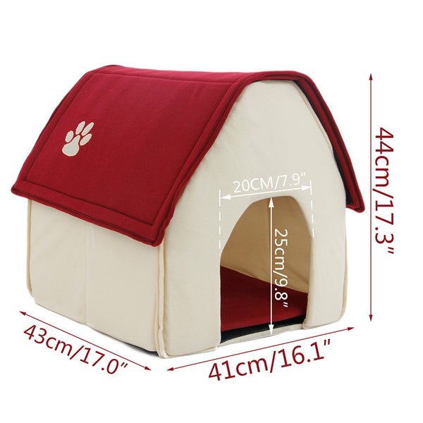 Dog Bed Cama Para Cachorro Soft Dog House For Pets Cats Dogs Home - Best Buy Affordable