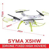 SYMA 2.4G 4CH RC Drone With Camera HD X5HW FPV Helicopter Remote Control Quadcopter Drone Toys For Kids Adults Gift - Best Buy Affordable