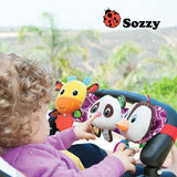 Sozzy Musical Baby Toys Stroller Cot Bed Hanging Crib Mobile Soft Panda Deer Penguin Plush Rattle Teether Toy For Newborn Babies - Best Buy Affordable