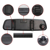 "2.4"" 720P 120 Degree Car DVR Rear View Dash Cam Mirror Monitor Night Vision - Best Buy Affordable"