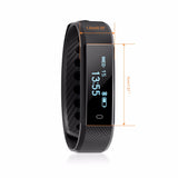 ID115 Smart Bracelet Fitness Tracker Alarm Clock Vibration Wristband