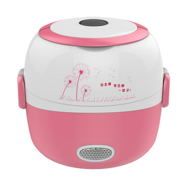 MINI rice cooker insulation heating Portable Steamer Container