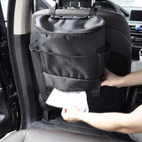 Car Cooler Chair Bag Travel Camping Organiser Insulated Lightweight Cooling Bag Drinks Holder Cooler Multi-Pocket Container