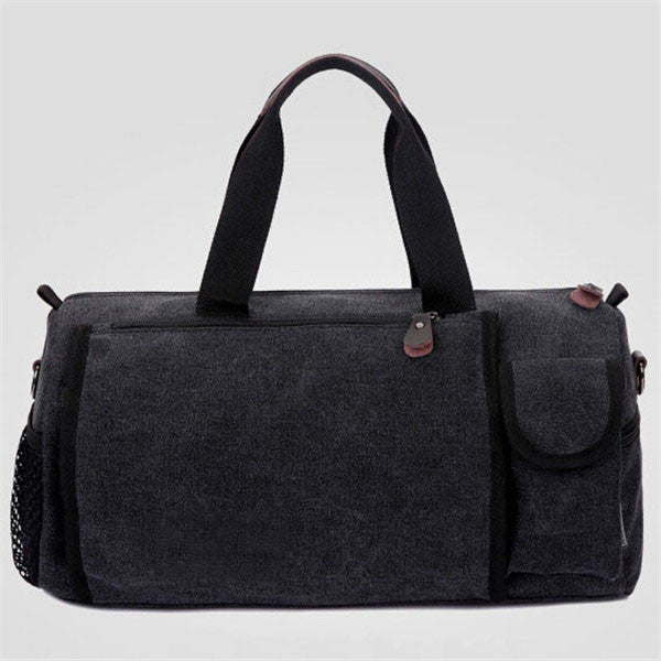 WEIJU Casual Canvas Men Travel Bags Fashion Vintage Luggage Duffle Bags Large Capacity - Best Buy Affordable