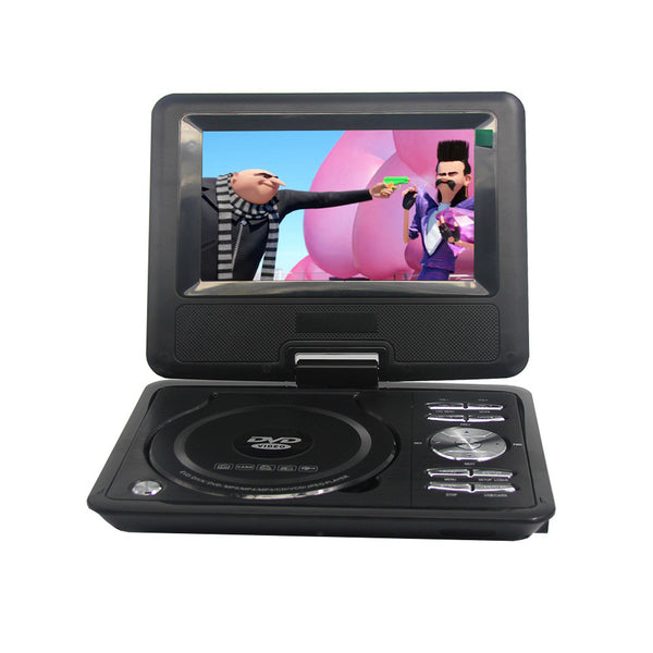 LONPOO Newest portable 7 Inch DVD player with rotatable screen game /TV function support CD player MP3/MP4 - Best Buy Affordable
