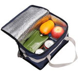 2017 Waterproof Two layers Large Capacity Thermal Bag For Mother & kids Genuine Car Lunch Cooler Bag Refrigerator
