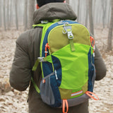 3 colors Waterproof Nylon Backpack Rucksack Men Women Bags Outdoor Travel Hike Camping Climb Sports Bag Pouch bolsa deportiva