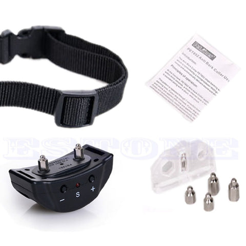 E74 2016 Hot  Humane Safe Vibration Stop Dog Barking Electric Shock Control Training Collar - Best Buy Affordable