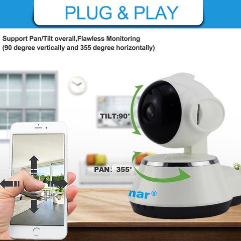 720P Wifi Wireless IP Camera CCTV Smart Security Camera Surveillance - Best Buy Affordable