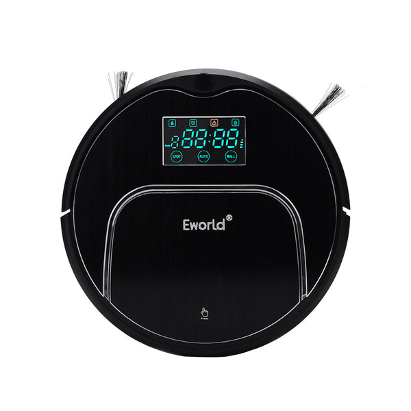 Eworld Robot Vacuum Cleaner M883 For Home Floor MOP Cordless Vacuum robot sweeper with Auto recharging Remote controller - Best Buy Affordable