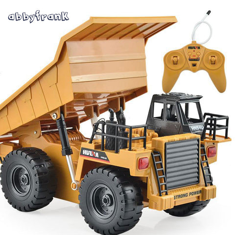 Abbyfrank RC Car Toy Car Remote Control Truck Tipper