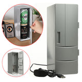 Portable Mini USB PC Car Laptop Fridge Cooler Mini USB PC Refrigerator Warmer Cooler Beverage Drink Cans Freezer - Best Buy Affordable