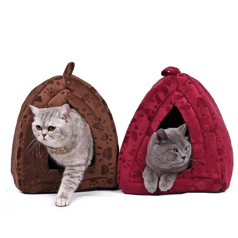 Dog Pet Bed House Soft Dog Kennel Lovely Soft Pet Products Pet House Cute Animal House - Best Buy Affordable