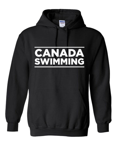 Canada Swimming Hooded Sweatshirt
