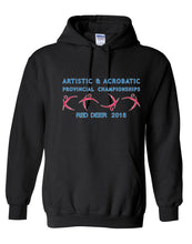 Alberta Artistic & Acrobatic Provincials 2018 Hooded Sweatshirt With Names on Back