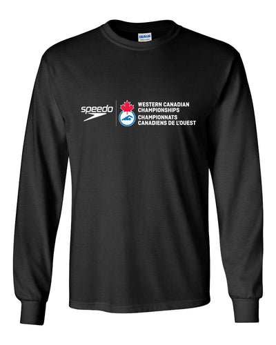 Swim Canada Westerns 2018 Long Sleeve T-Shirt