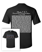 Alberta Trampoline & Tumbling Provincials 2018 Short Sleeve T-Shirt With Names on Back