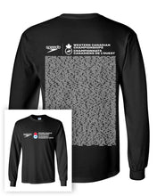 Swim Canada Westerns 2018 Long Sleeve T-Shirt With Names on Back