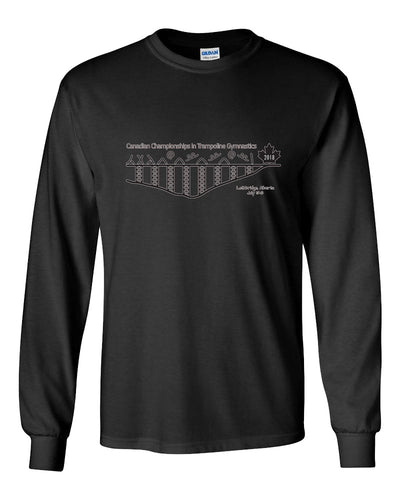 2018 Canadian Championships in Trampoline Gymnastics Long Sleeve T-Shirt