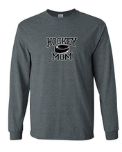 Hockey Mom With Puck Long Sleeve T-Shirt