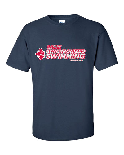 Masters Synchronized Swimming 2019 Short Sleeve T-Shirt
