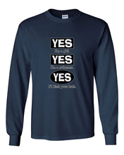 Yes I Am A Girl Yes I Am A Swimmer Long Sleeve T-Shirt