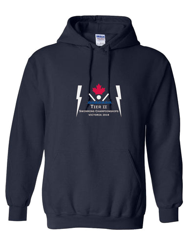 Tier II Age Group Championships 2018 Hooded Sweatshirt