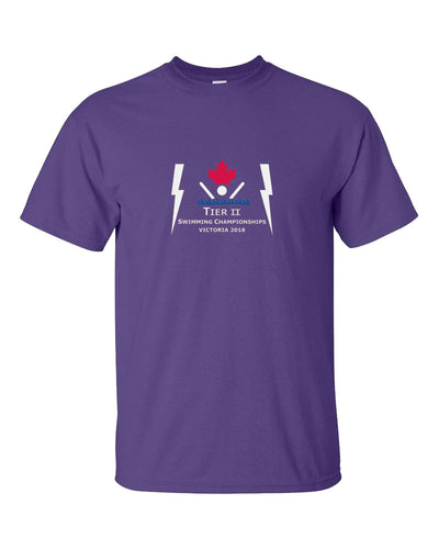 Tier II Age Group Championships 2018 Short Sleeve T-Shirt