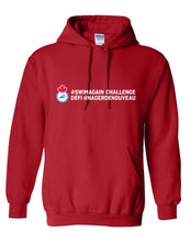 2020 Swim Canada Swim Again Challenge Hooded Sweatshirt with Back