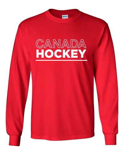 Canada Hockey Long Sleeve T-Shirt