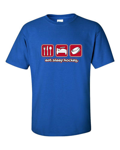 Eat Sleep Hockey Short Sleeve T-Shirt