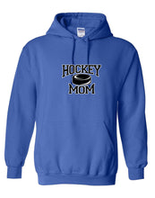 Hockey Mom With Puck Hooded Sweatshirt
