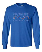 Alberta Trampoline & Tumbling Provincials 2018 Long Sleeve T-Shirt