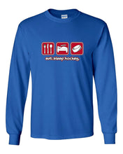 Eat Sleep Hockey Long Sleeve T-Shirt