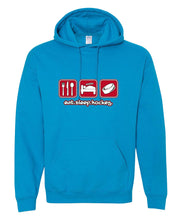 Eat Sleep Hockey Hooded Sweatshirt