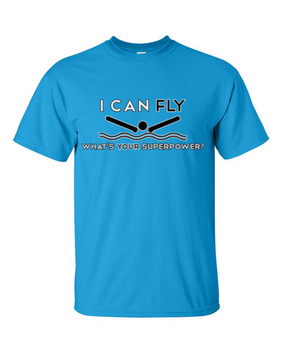 I Can Fly What's Your Superpower Short Sleeve T-Shirt