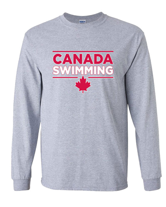 Special Edition Canada Swimming Long Sleeve T-Shirt