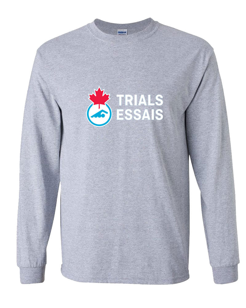 2018 Canadian Swimming Trials Long Sleeve T-Shirt