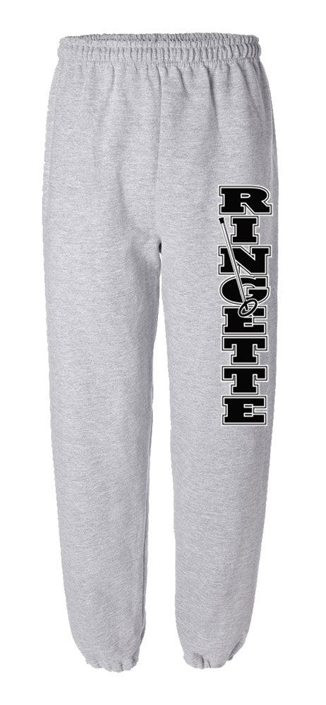 Ringette with Stick and Ring Sweatpants