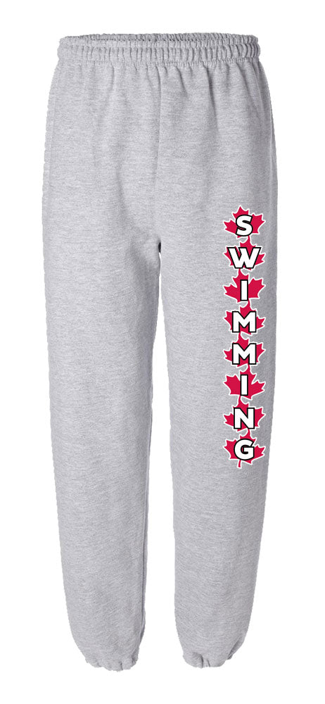 Swimming Maple Leaf Sweatpants