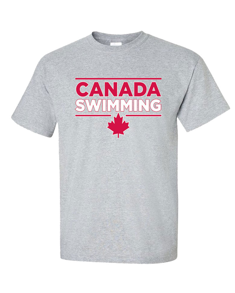 Special Edition Canada Swimming Short Sleeve T-Shirt