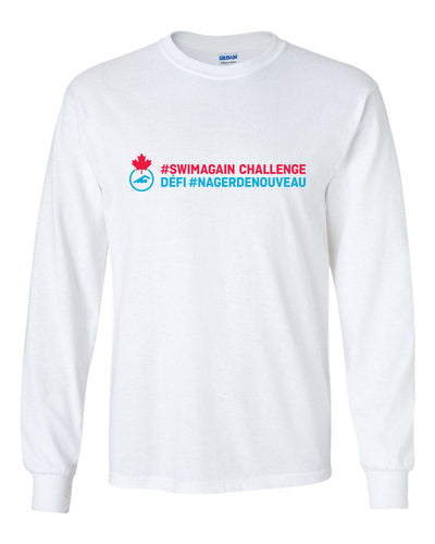 2020 Swim Canada Swim Again Challenge Long Sleeve T-Shirt