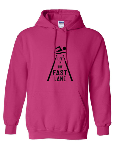Life in The Fast Lane Hooded Sweatshirt