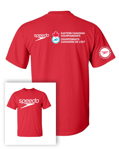 Speedo Eastern Canadian Championships 2021 Short Sleeve T-Shirt