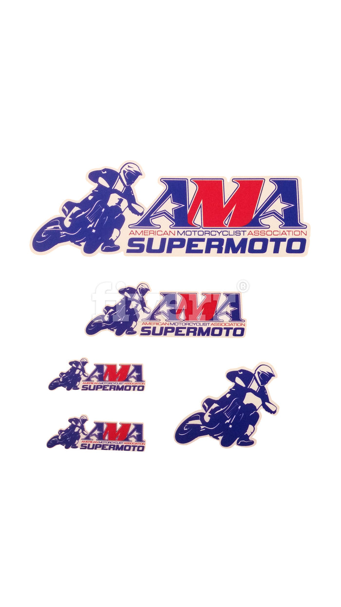 Official AMA Supermoto Sticker