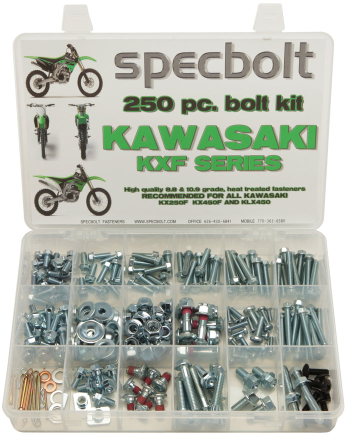 Specbolt 250pc Kawasaki KXF250 & KXF450 Kit
