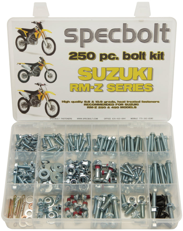 Specbolt 250pc Suzuki RMZ 250 & 450 Kit