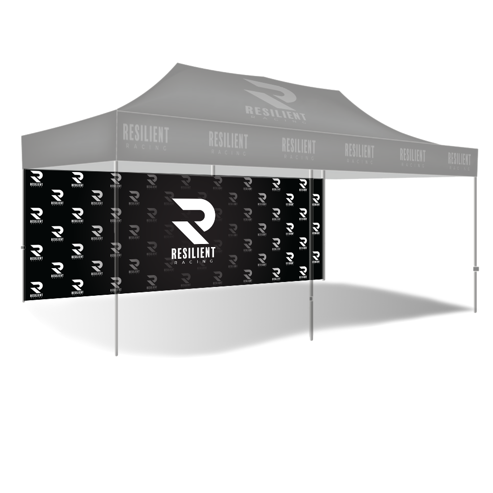 Custom Canopy Full Wall