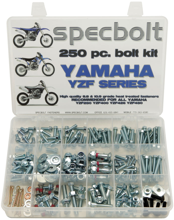 Specbolt 250pc Yamaha YZF 250 400 426 450 Kit